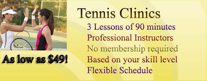 Tennis Lessons in Montreal, Private,Group,Adult & Children Tennis Camps, Woodland & Cote Saint Luc Tennis Club